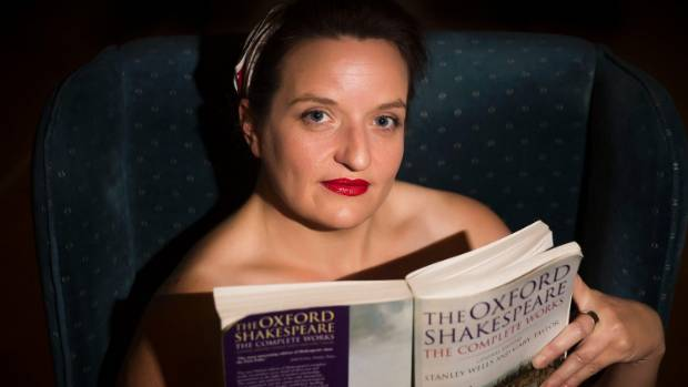 Palmerston North woman Hannah Pratt is part of the growing Naked Girls Reading phenomenon.
