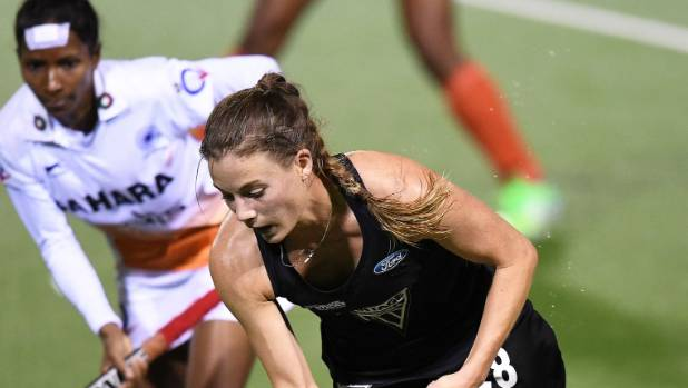 Shiloh Gloyn of the Black Sticks is part of the squad to play in the Oceania Cup in Sydney this week.