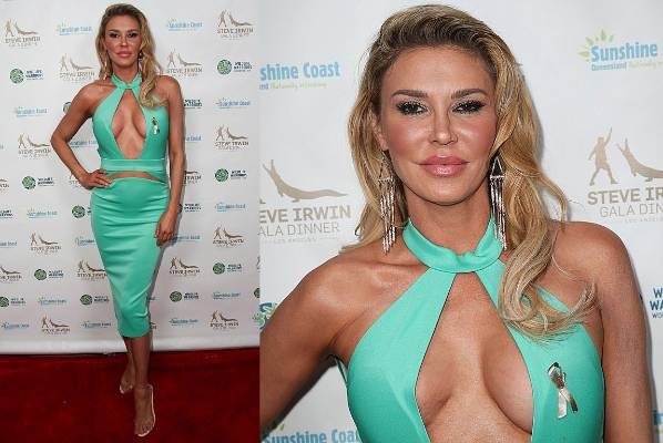 THE BAD: We're about to tell you something about Brandi Glanville's outfit that once seen, cannot be unseen… Look at how ...