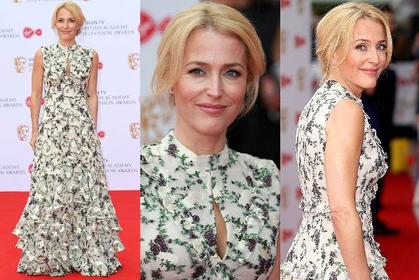 THE GOOD: Things we want to borrow from Gillian Anderson: her silk shirts from The Fall, her directions to the fountain ...
