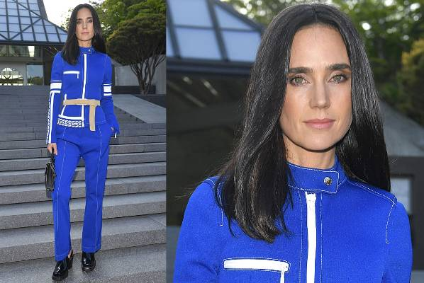 THE BAD: Jennifer Connelly might be wearing head-to-toe Louis Vuitton, but she looks less haute couture clotheshorse and ...