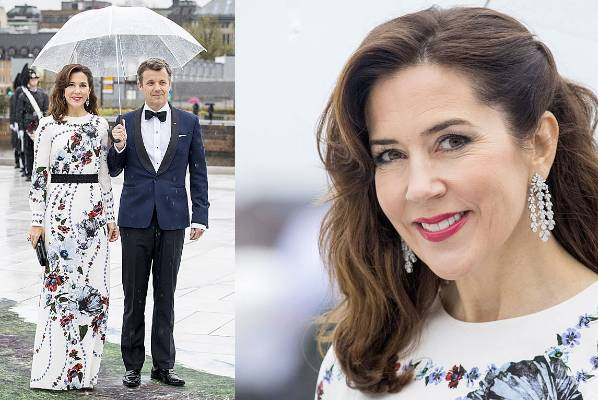 THE GOOD: Seeing how amaze-bouche Princess Mary of Denmark looks here makes us want to see finger-waves on Duchess Cathy ...