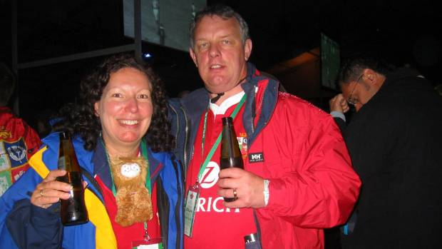 Britons Peter and Yvonne Clarke are returning to Wellington for the first time since the 2005 Lions tour, hoping to see ...