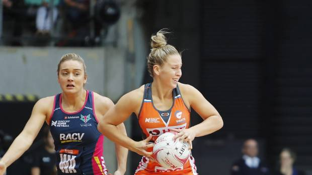 Former Kiwi netballer Jamie-Lee Price (right) has claimed a spot in the Australian squad to play at the youth world ...