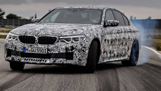 The 2018 BMW M5 with M xDrive.