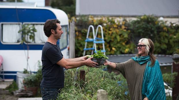 Pascal and Bec spent two years turning sand into soil to grow a productive garden.