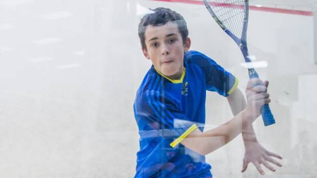 Rising squash star Paul Moran has been chosen for a national training squad.