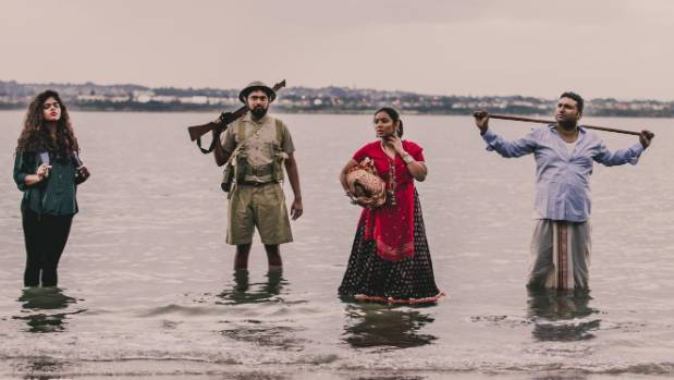 Prayas theatre company spent time researching the history of Indians living in New Zealand.