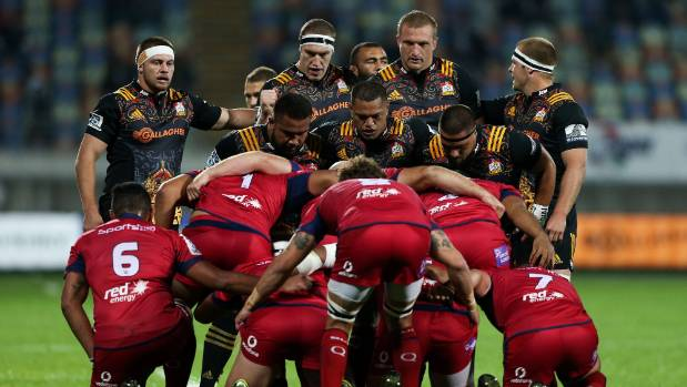 The Chiefs' pack will get a stern test from the Crusaders, who made a real statement against the Hurricanes last weekend.