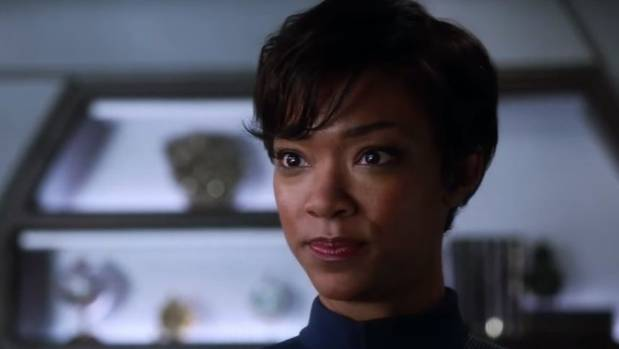 Sonequa Martin-Green as first mate of the Discovery.
