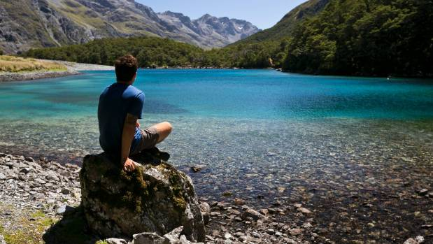 The Blue Lake, Nelson Lakes National Park.