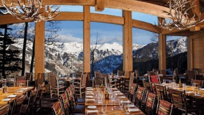 Allred S Restaurant In Telluride Us Warm Atmosphere Friendly Service Fabulous Mountain Views