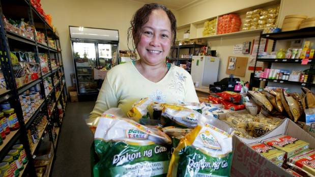 Davelyn Dablio, shop assistant at the Filipino and Asian Store, on Yarrow street, Invercargill, which serves many ...