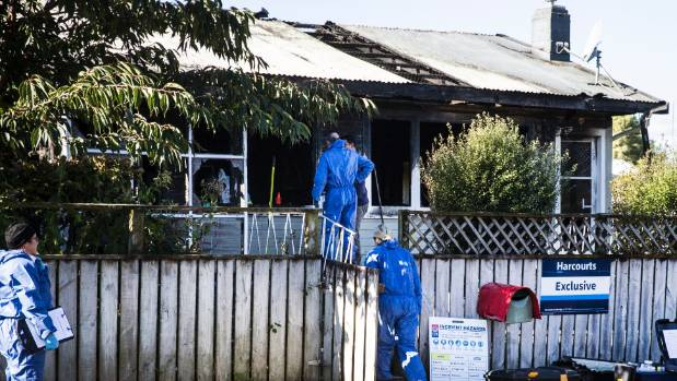 A woman was found dead in a burnt-out home in Tirau on Monday, May 1.