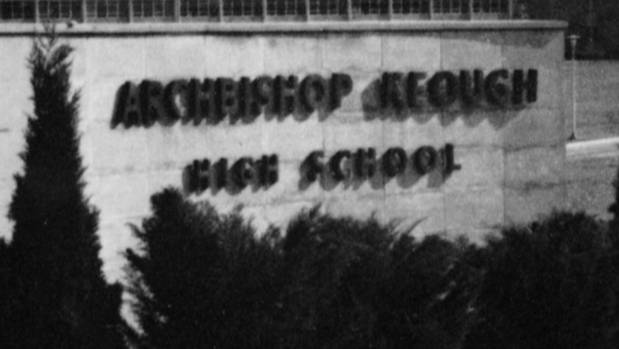 Archibishop Keough High School is a key location in The Keepers.