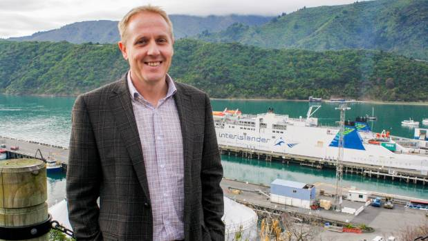 Port Marlborough business development manager Rhys Welbourn says the first ferry was able to dock within 10 hours of the ...