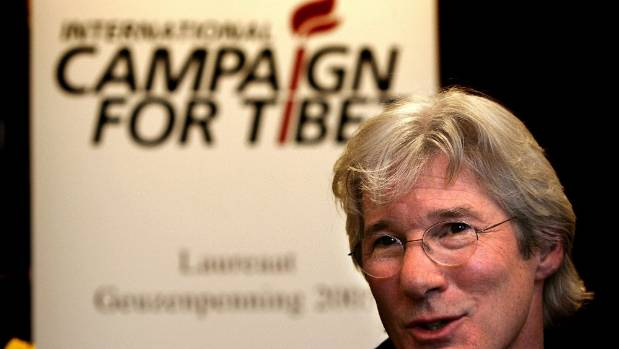 Richard Gere has been a long-time supporter of Tibet independence.