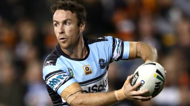 Cronulla Sharks star James Maloney.