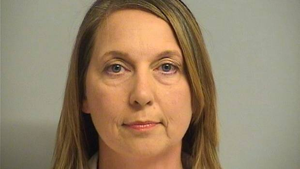 Tulsa, Oklahoma Police Officer Betty Shelby, is shown in this Tulsa County Jail booking photo.