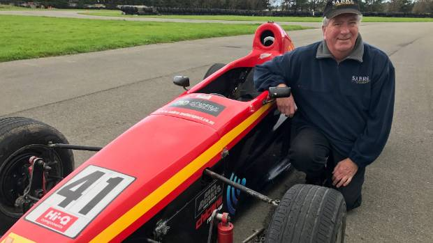 Sabre Motorsport's Dennis Martin will be back at Manfeild this weekend, a year on from a near-death experience.
