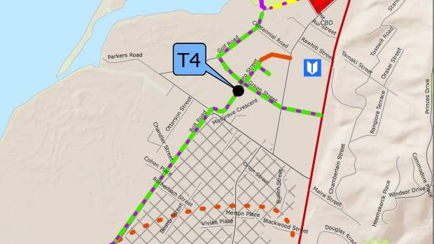 "The ""T4"" option for Tahunanui's cycle network has been voted down by a Nelson City Council committee... for the second time."