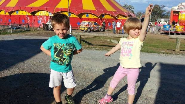 Serena and Thomas are now aged 8 and 7. This picture was taken two years ago.