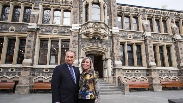 David and Leigh Teece were substantial donors to the restoration of the Old Chemistry building in the Arts Centre.