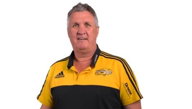Hurricanes professional development manager Steve Symonds.