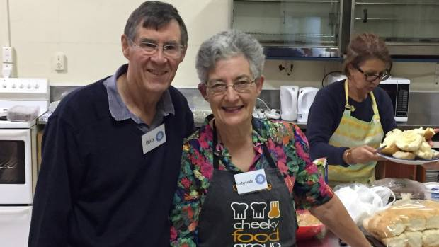 St Vincent de Paul volunteers Bob Goodyear and Gabrielle Carman have seen the numbers of people coming to the weekly ...