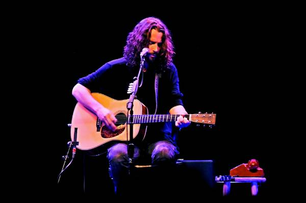 Chris Cornell was a leading figure in the 90s grunge music movement.