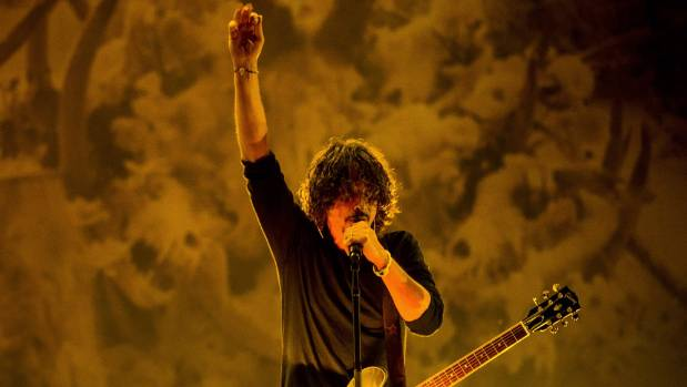 Chris Cornell of Soundgarden performs on stage during the 2014 Lollapalooza Brazil at Autodromo de Interlagos in Sao ...