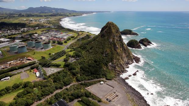 Emergency services were called to assist an injured teen on New Plymouth's Paritutu Rock after he broke his ankle near ...