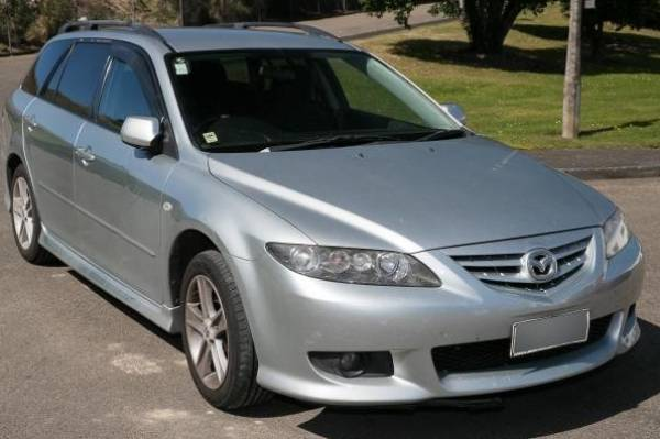 This silver Mazda 6 was seen on the night Tolley was killed.
