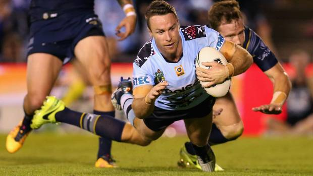 Former Warrior James Maloney has been a massive success at the Sharks.
