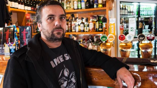 Wayne Brougham, owner of New Plymouth's Treehouse Bar and Bistro won't forget having a rifle pointed at his head during ...