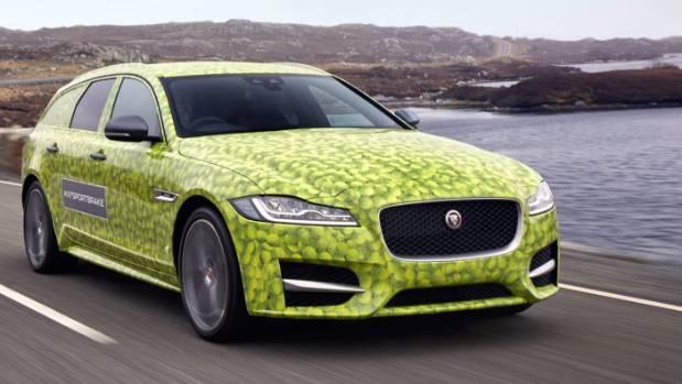 Jaguar's 2017 XF Sportbrake.