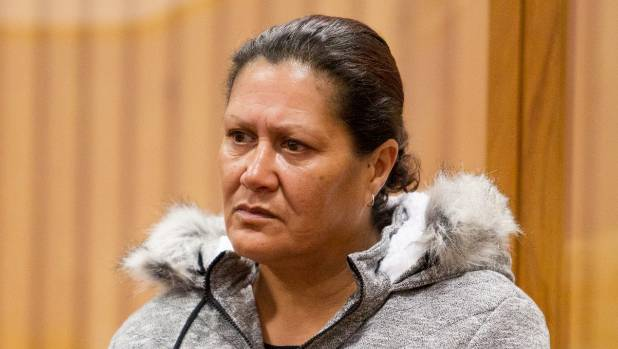 Donna Catherine Parangi is on trial in the High Court at Rotorua charged with the manslaughter of her grandson.