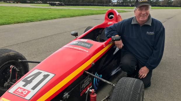 Dennis Martin, the driving force behind the SpeedSport Scholarship, is at selection weekend.