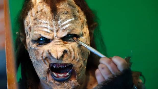 Sarah Dow based her entry on an Orc, inspired by the Lord of the Rings trilogy which was filmed in New Zealand.