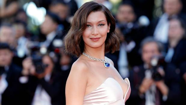 Supermodel Bella Hadid added a slight scandal to the red carpet in Cannes.