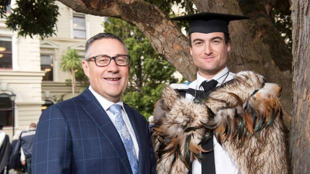 Hamish Fletcher and son Jack celebrate four generations of Fletcher family lawyers, following Jack's graduation from ...