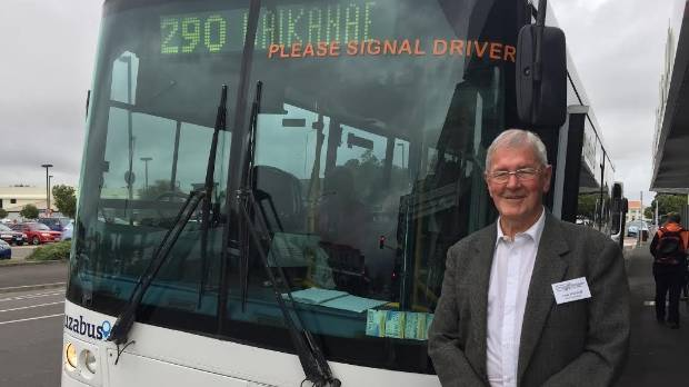 Grey Power Horowhenua vice president Lew Rohloff says a new bus service from Levin to Waikanae is going well.