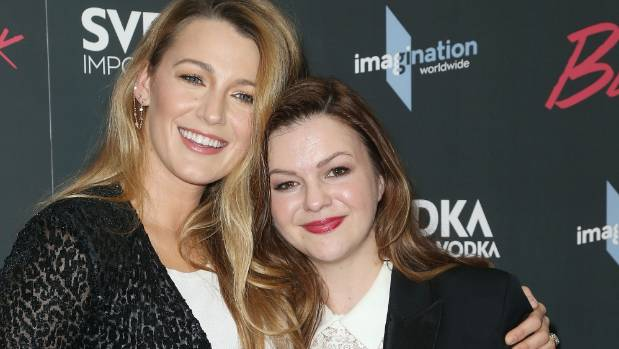 Blake Lively and Amber Tamblyn attend the New York premiere of Paint it Black at the Museum of Modern Art on May 15.