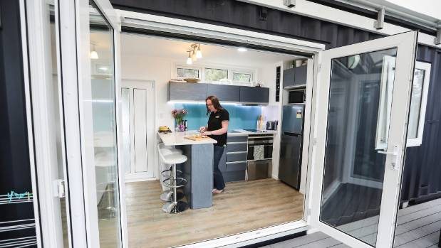 Kelly says the kitchen and bathroom in a small home will represent a larger proportion of the overall cost than in a ...