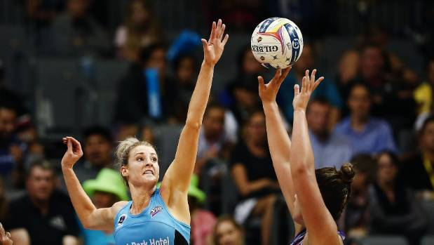 Steel's Jane Watson has been one of the form defenders in the ANZ Premiership.