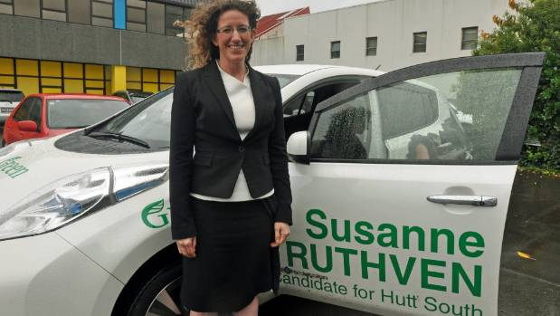 Hutt South Green candidate Susanne Ruthven has a hard job getting heard in an electorate, where National and Labour are ...