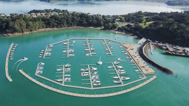 The new marina will be built as a floating facility.