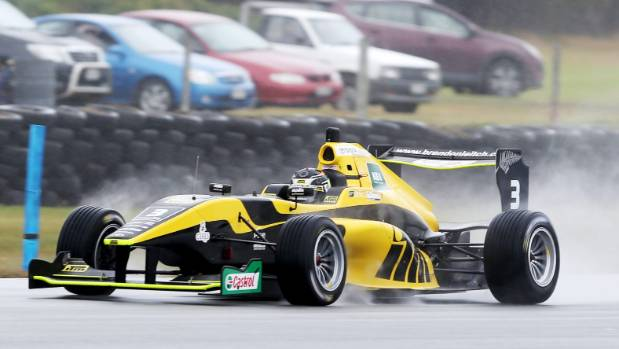 Southland's Brendon Leitch competes in the Toyota Racing Series at Invercargill's Teretonga Park.