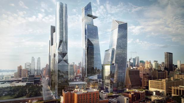 The Hudson Yards is the largest private real estate development in the history of the US.
