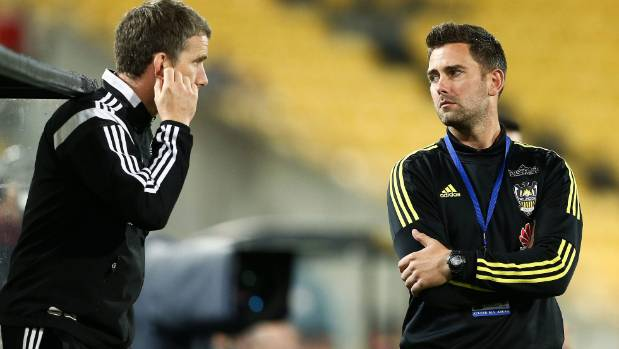 The Wellington Phoenix will try to find roles for last season's co-coaches Chris Greenacre and Des Buckingham.